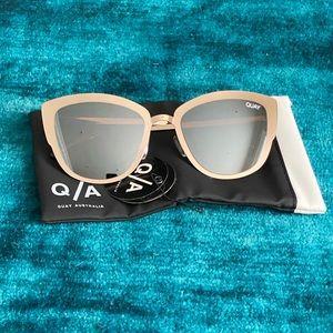 Quay Australia Gold Mirror Sunglasses